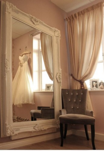 Cicily Bridal changing room