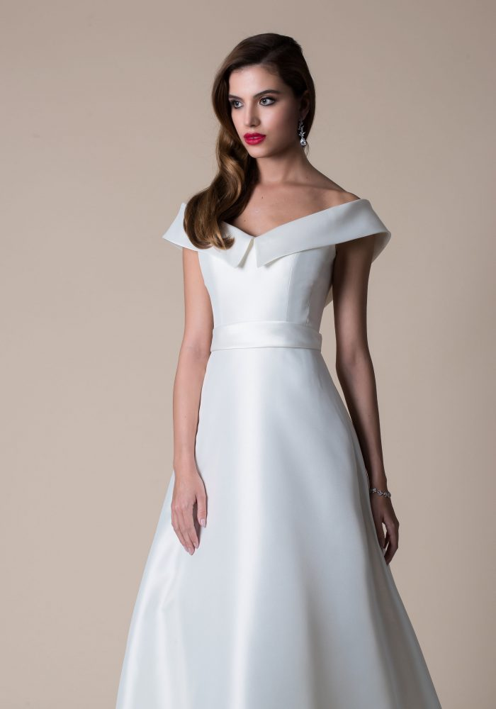 Isla classic a line wedding dress